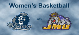 Ted Constant Convocation Center, Norfolk, Virginia :: ODU Women's Basketball vs. James Madison